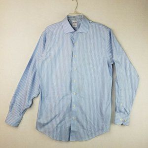 Brooks Brothers 346 Slim Fit 16 1/2 6/7 Button Up